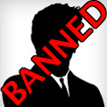 Banned profile